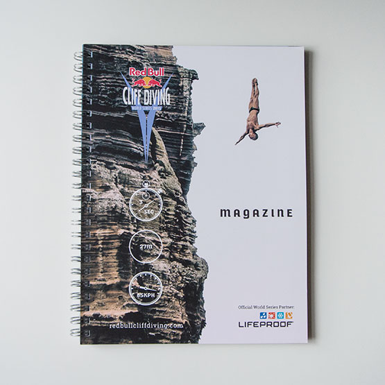 Red Bull Cliff Diving Magazine 2015